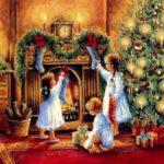 Сказочная Новогодняя сказка во Франции